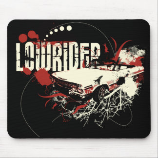 Dark Chevy Lowrider Mouse Pad