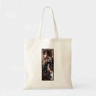 Dark childhood bag