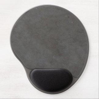 Dark chocolate brown gel mouse pad