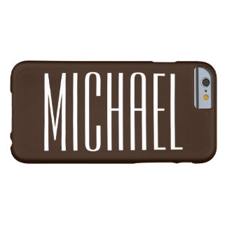 Dark Chocolate Brown iPhone 6 case