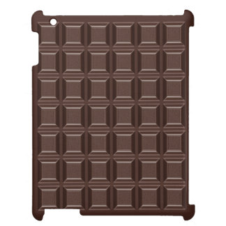 Dark Chocolate Chocaholic iPad Case Cover