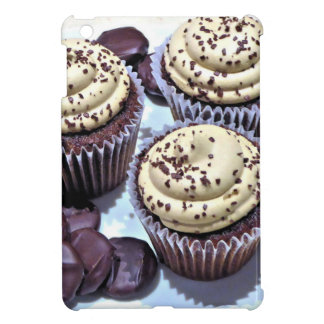 Dark Chocolate Cupcakes - Sweet Bakery Print iPad Mini Cover