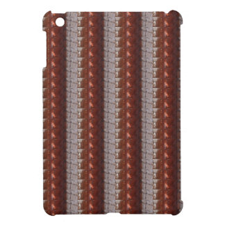 Dark Chocolate Engraved Embroidered Look GIFTS Case For The iPad Mini