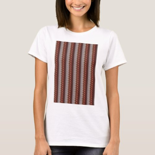 Dark Chocolate Engraved Embroidered Look GIFTS T_Shirt