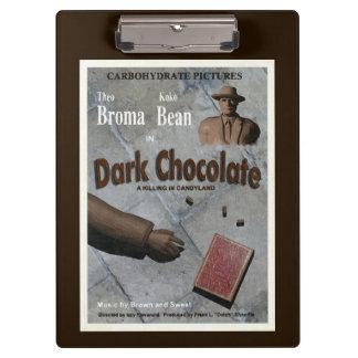 Dark Chocolate Movie Clipboard