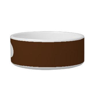 Dark Chocolate Cat Water Bowl