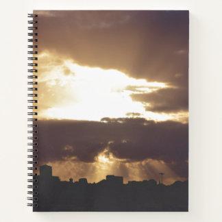 Dark Chocolate Plymouth Notebook