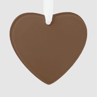 Dark Chocolate Solid Color
