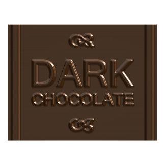 Dark Chocolate Square Flyer