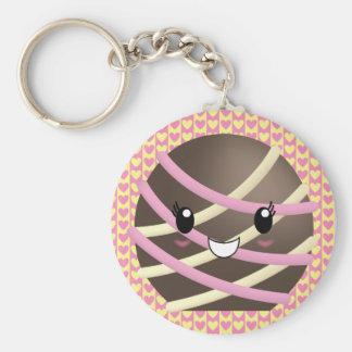 Dark Chocolate Truffle Keychain
