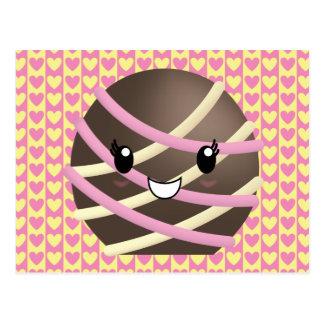Dark Chocolate Truffle Postcard