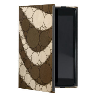 Dark Chocolate Zebra Abstract Cover For iPad Mini