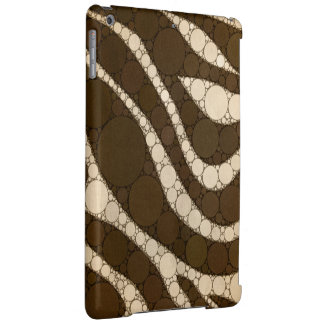 Dark Chocolate Zebra Abstract iPad Air Case