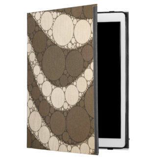 "Dark Chocolate Zebra Abstract iPad Pro 12.9"" Case"