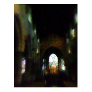 Dark Church Postcard