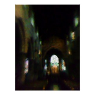 Dark Church print