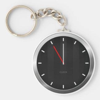 Dark Clock Keychains