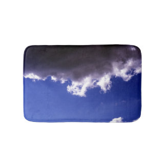 Dark cloud bathroom mat