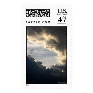 Dark Clouds Postage