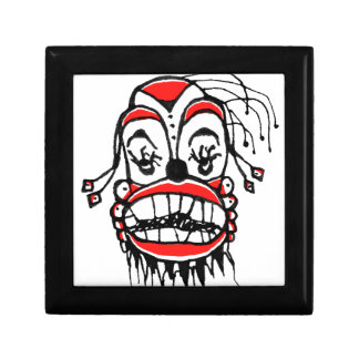 Dark Clown Drawing Gift Box