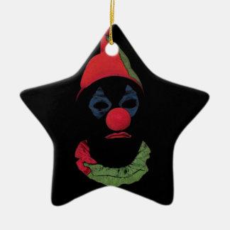 Dark Clown Christmas Tree Ornament