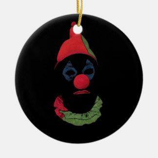 Dark Clown Christmas Tree Ornaments