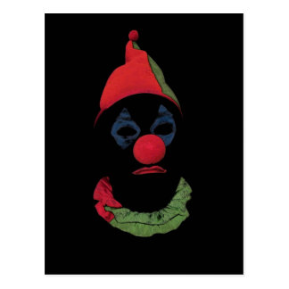 Dark Clown Postcard