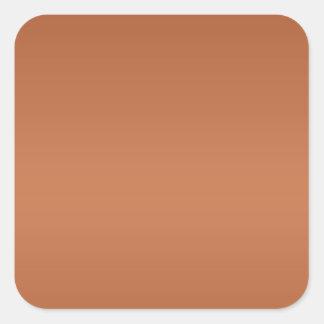 Dark Color Lable Label - Print in Light Shade Type Square Sticker