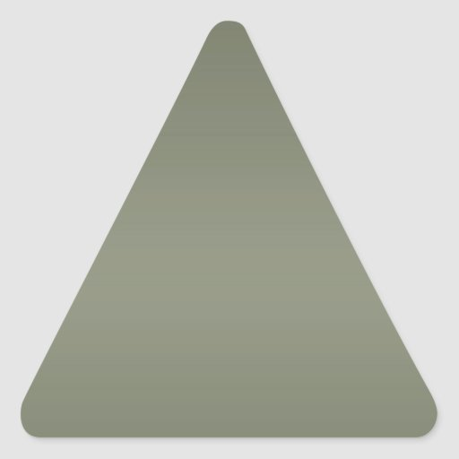 Dark Color Lable Label - Print in Light Shade Type Triangle Stickers