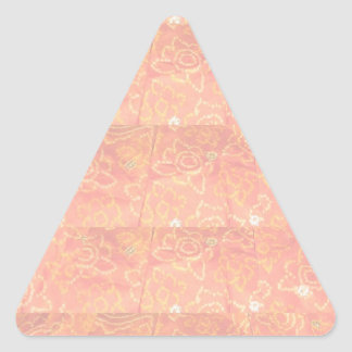 Dark Color Lable Label - Print in Light Shade Type Triangle Sticker