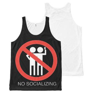 Dark Color No Socializing Tank