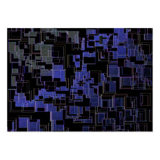 dark colored pattern large business card