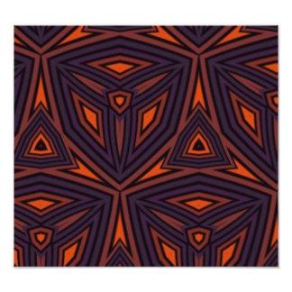 Dark colored pattern photo art