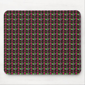 DARK Colored Stripes : Elegant UNIQUE Pattern GIFT Mouse Pad