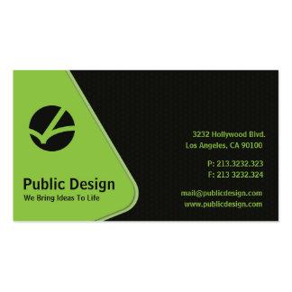 Dark Combs Business Card