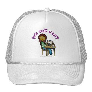 Dark Computer Girl Hat