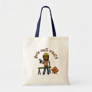 Dark Construction Girl Bags