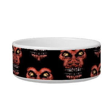 Halloween Themed Dark Conversational Pattern. Bowl