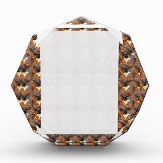 Dark Copper Energy Chakra - add text or image box Acrylic Award