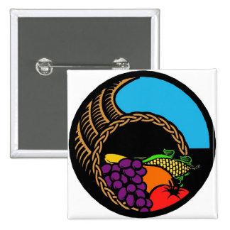 Dark Cornucopia Pinback Button