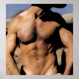 Dark Cowboy Poster