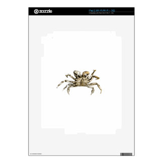 Dark Crab Photo Decals For The iPad 2