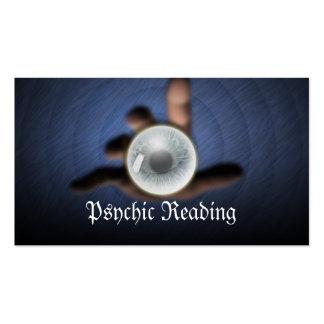Dark Crystal Ball Psychic Reading Business Card