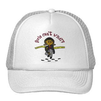 Dark CSI Girl Trucker Hat