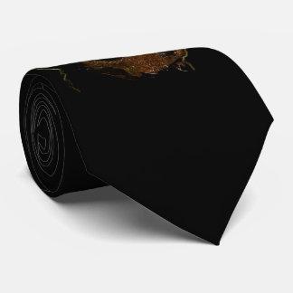 Dark Cute Rottweiler Puppy Dog Neck Tie
