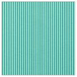 [ Thumbnail: Dark Cyan and Aquamarine Striped/Lined Pattern Fabric ]