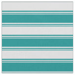 [ Thumbnail: Dark Cyan and Lavender Striped/Lined Pattern Fabric ]