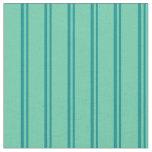 [ Thumbnail: Dark Cyan & Aquamarine Colored Pattern Fabric ]