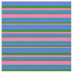 [ Thumbnail: Dark Cyan, Hot Pink, Green, and Royal Blue Colored Fabric ]