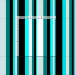 [ Thumbnail: Dark Cyan, Light Cyan, Cyan & Black Lines Fabric ]